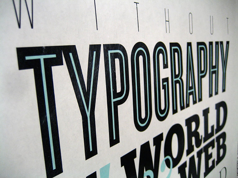 typography trends in web design